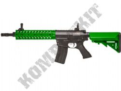 CM501 AEG M4 CQB RIS Electric Airsoft Rifle 6mm BB Machine Gun Alloy Gear Box 2 Tone Colours